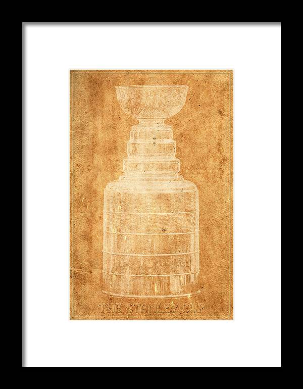 Hockey Framed Print featuring the photograph Stanley Cup 1a by Andrew Fare