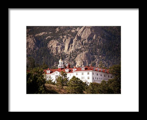Estes Park Framed Print featuring the photograph Stanley Hotel Estes Park by Marilyn Hunt