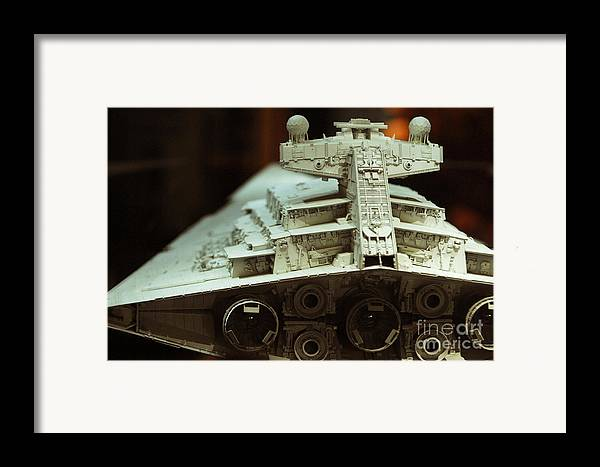 Fighter Framed Print featuring the photograph Star Destroyer Maquette by Micah May