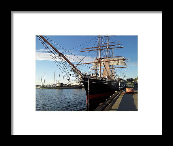 Star Of India Framed Print featuring the photograph Star Of India by Eric Johansen