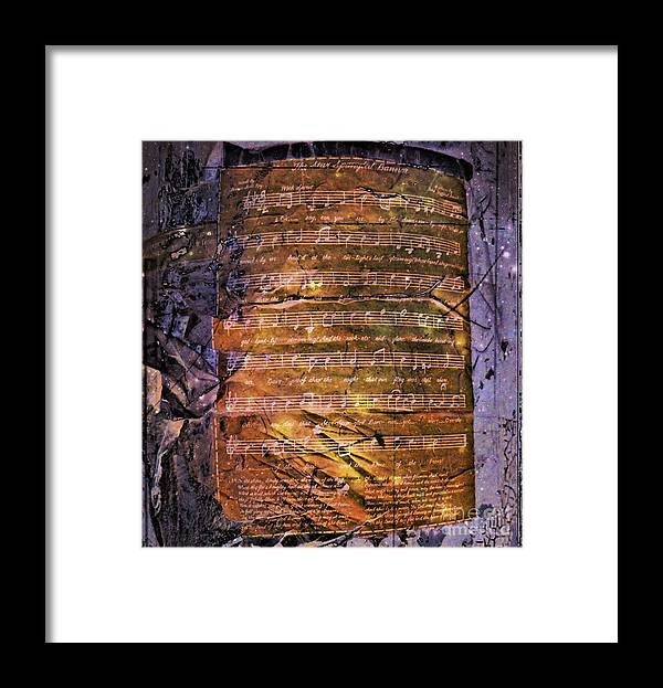 National Anthem Framed Print featuring the photograph Star Spangled Banner by Lilliana Mendez