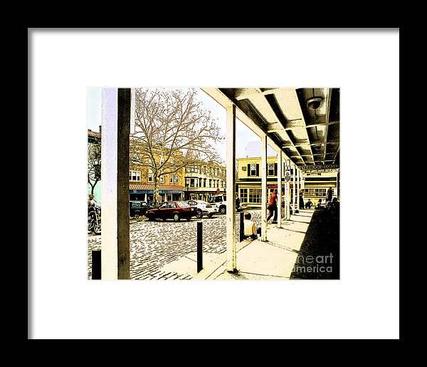 Doylestown Framed Print featuring the photograph Starbucks - Doylestown by Addie Hocynec
