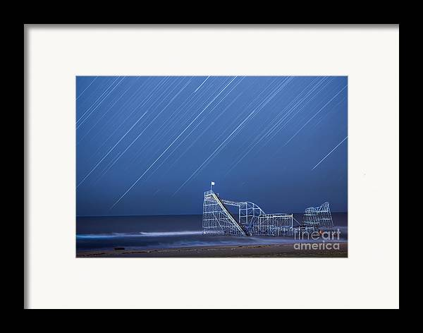 Starjet Framed Print featuring the photograph Starjet Under The Stars by Michael Ver Sprill