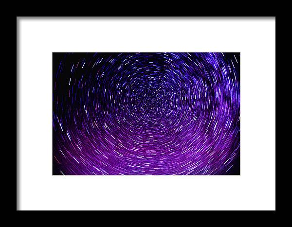 Gobi Framed Print featuring the photograph Stars Over The Gobi Desert by Solveig Boergen
