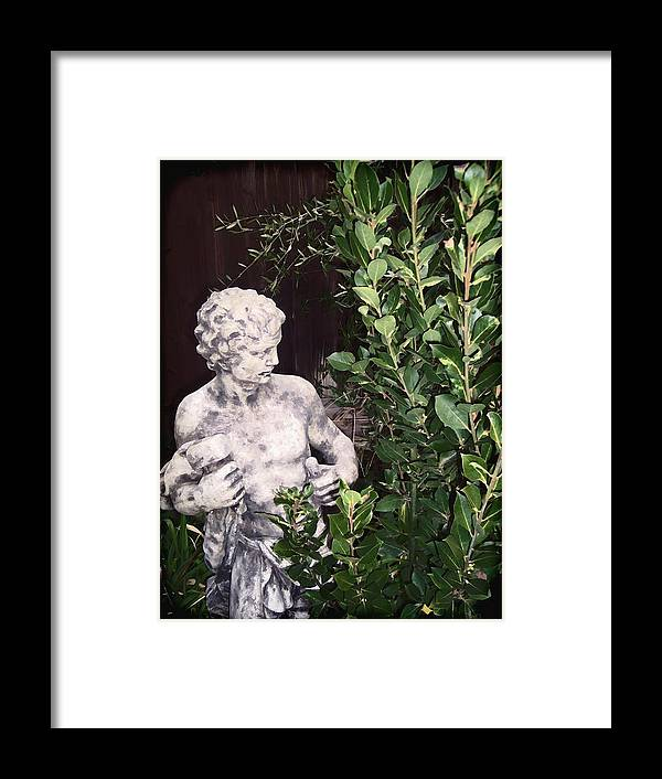 Statue Framed Print featuring the photograph Statue 1 by Pamela Cooper
