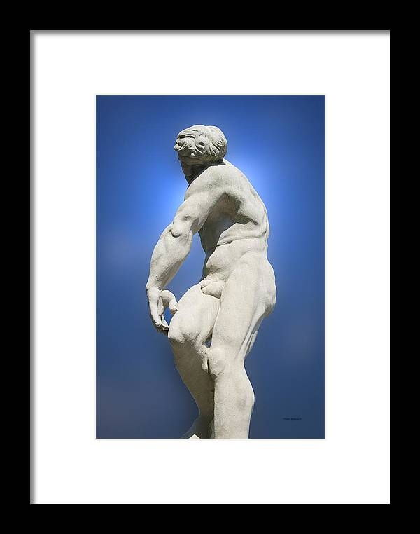 Statue Framed Print featuring the photograph Statue 24 by Thomas Woolworth