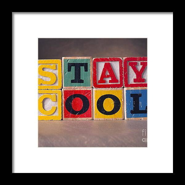 Stay Cool Framed Print featuring the photograph Stay Cool by Art Whitton