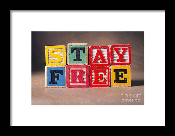 Stay Free Framed Print featuring the photograph Stay Free by Art Whitton