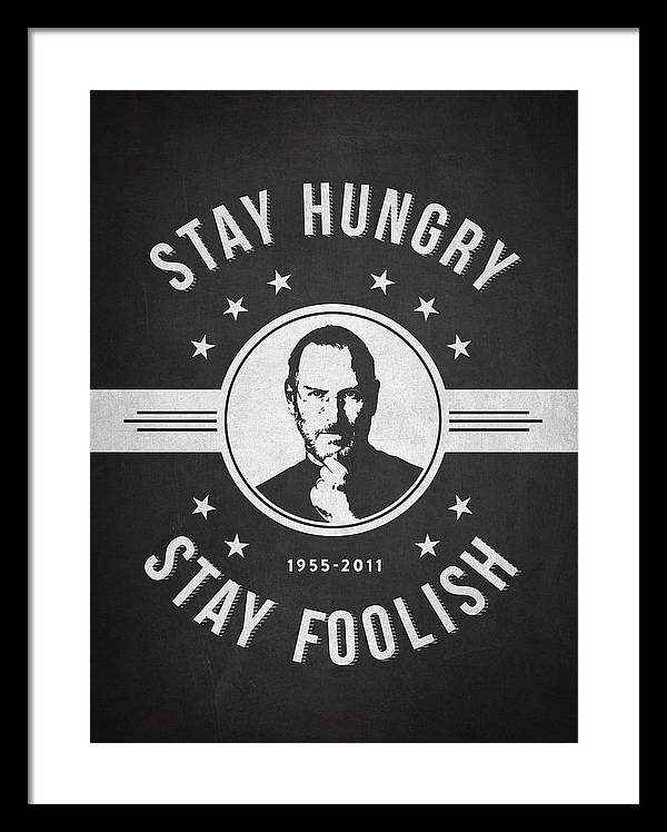 Stay Hungry Stay Foolish - Dark by Aged Pixel