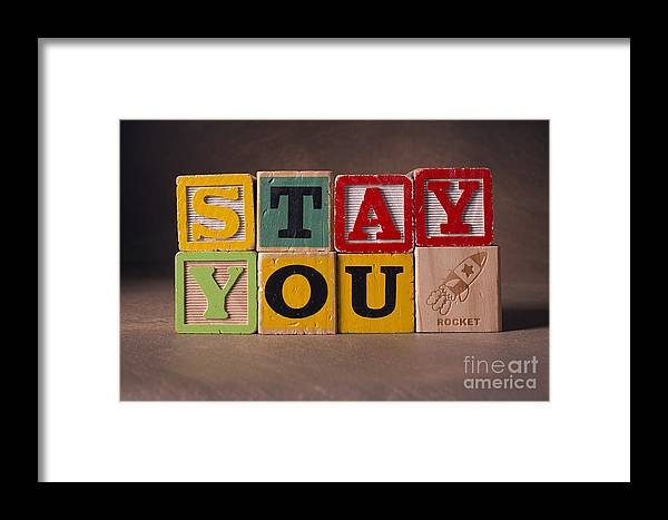 Stay You Framed Print featuring the photograph Stay You by Art Whitton