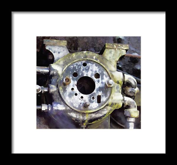 Framed Print featuring the photograph Steam Machine 2 by Cathy Anderson