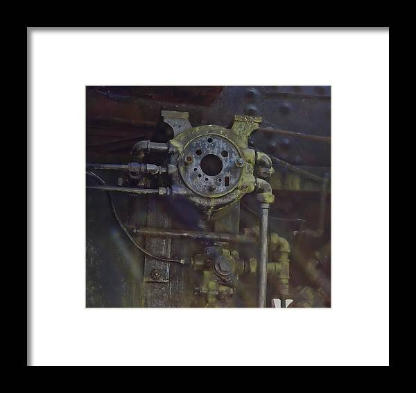 Framed Print featuring the photograph Steam Machine by Cathy Anderson