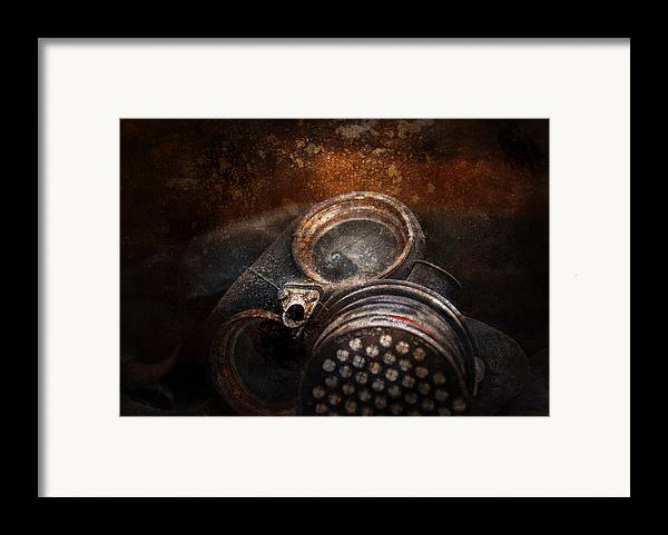 Hdr Framed Print featuring the photograph Steampunk - Doomsday by Mike Savad