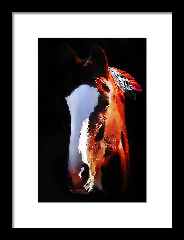 Portrait Framed Print featuring the photograph Stepping Into The Light by Terril Heilman