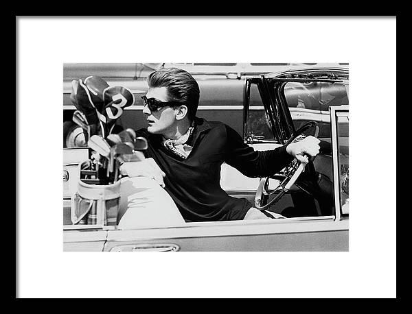 Steve Holland In A Chrysler New Yorker by Paul Himmel