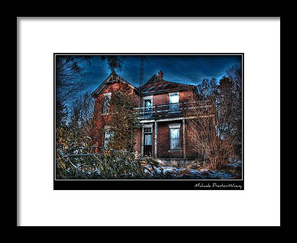 Hdr Framed Print featuring the photograph Still A Beauty by Michaela Preston