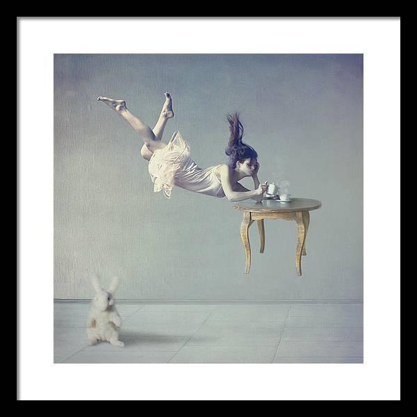 Floating Framed Print featuring the photograph Still dreaming by Anka Zhuravleva