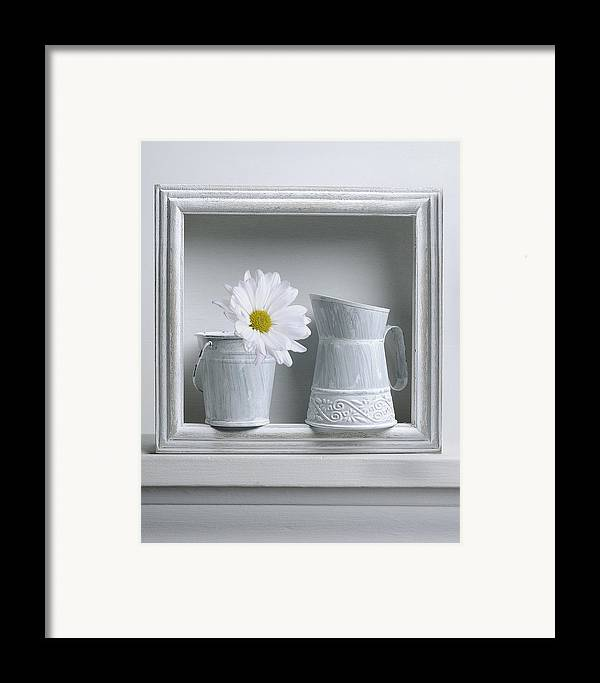 Art Framed Print featuring the photograph Still Life With A Wooden Box by Krasimir Tolev