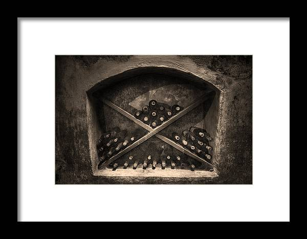 Still Wine Framed Print featuring the photograph Still Wine by William Fields