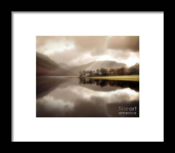 Great Britain Framed Print featuring the photograph Stillness Of The Water by Edmund Nagele