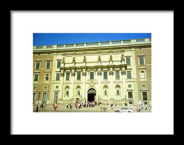 Sweden Framed Print featuring the photograph Stockholm Palace by Ted Pollard