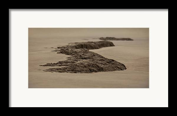 Landscape Framed Print featuring the photograph Stoned by Mario Celzner