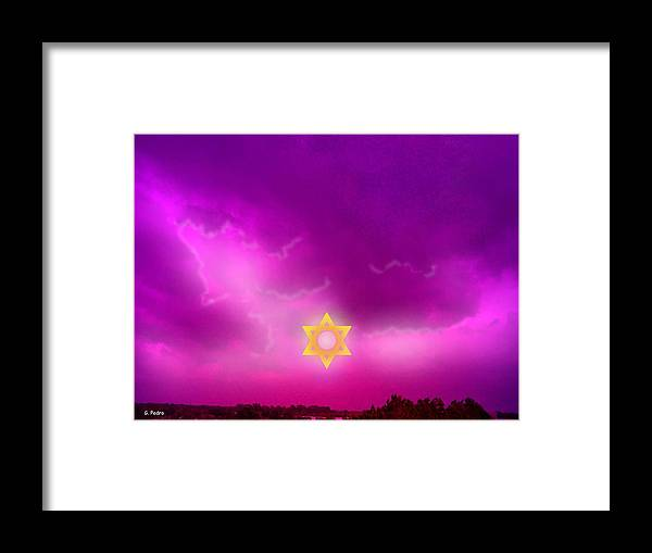 Jerusalem Framed Print featuring the photograph Storm Clouds Gather Over Jerusalem by George Pedro