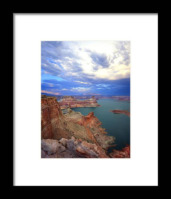 National Park Framed Print featuring the photograph Storm In The Gunsight by Ray Mathis