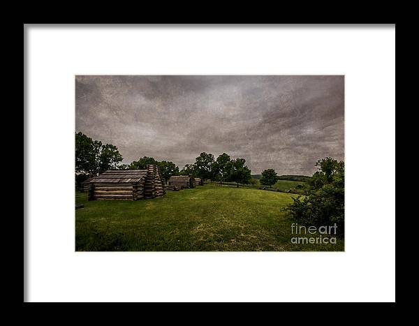Storm Framed Print featuring the photograph Storm Is Coming by Jeff Oates Photography
