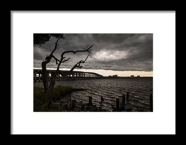 Framed Print featuring the photograph Stormy Weather by Ron Maxie