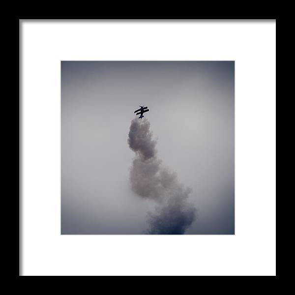 Aerobatic Framed Print featuring the photograph Straight Up by Kelly Bryant