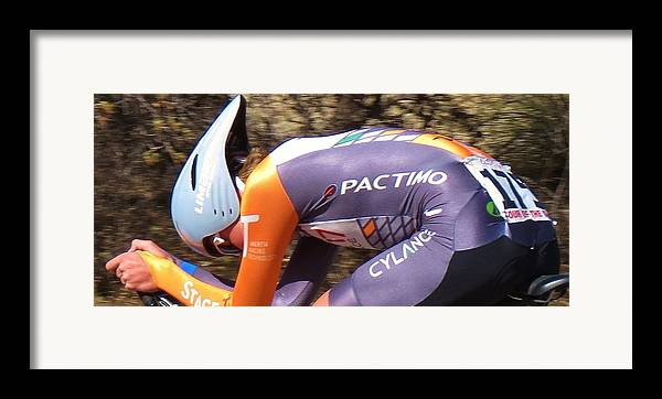 Tour Of The Gila Framed Print featuring the photograph Streamlined For Speed by Feva Fotos
