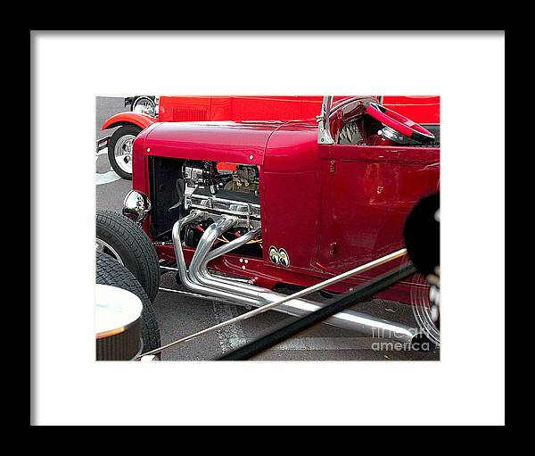 Automotive Framed Print featuring the photograph Street Rod by Howard Markel