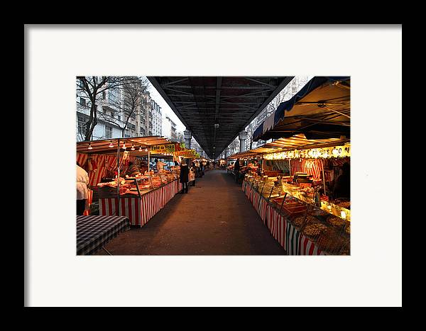 Paris Framed Print featuring the photograph Street Scenes - Paris France - 011316 by DC Photographer