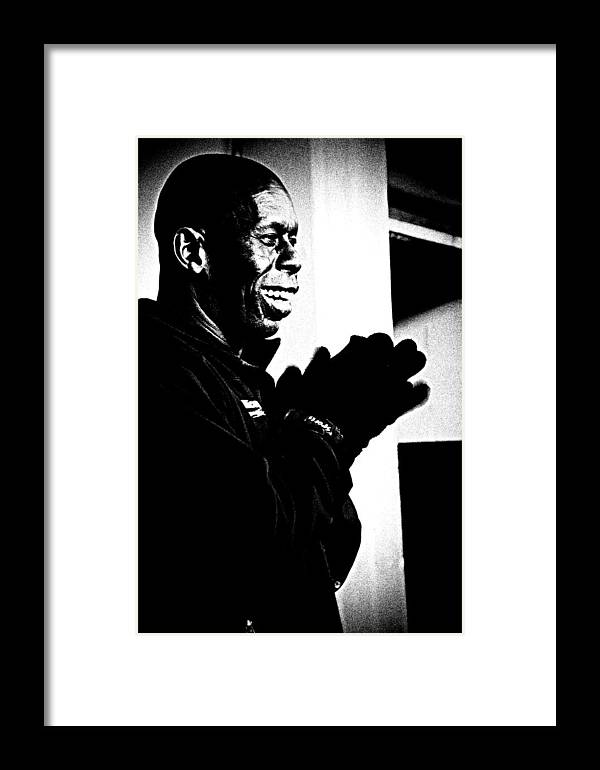 Photography Framed Print featuring the photograph Street Singer by Kathryn Lockwood