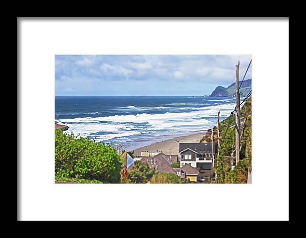 Beach Framed Print featuring the photograph Street Treat by Richard Risely