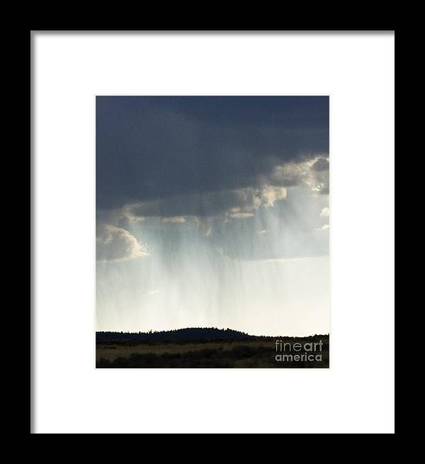 God Rays Framed Print featuring the photograph Strength From Above by Carolyn Fox