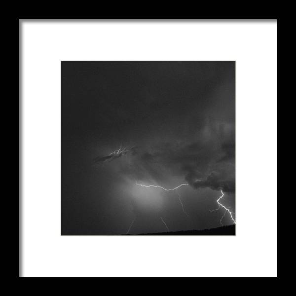 Landscape Framed Print featuring the photograph Striking by Heather Reichel