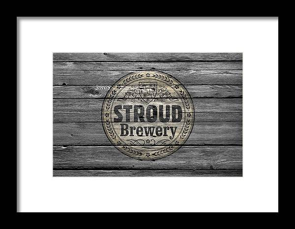 Stroud Brewing Framed Print featuring the photograph Stroud Brewing by Joe Hamilton