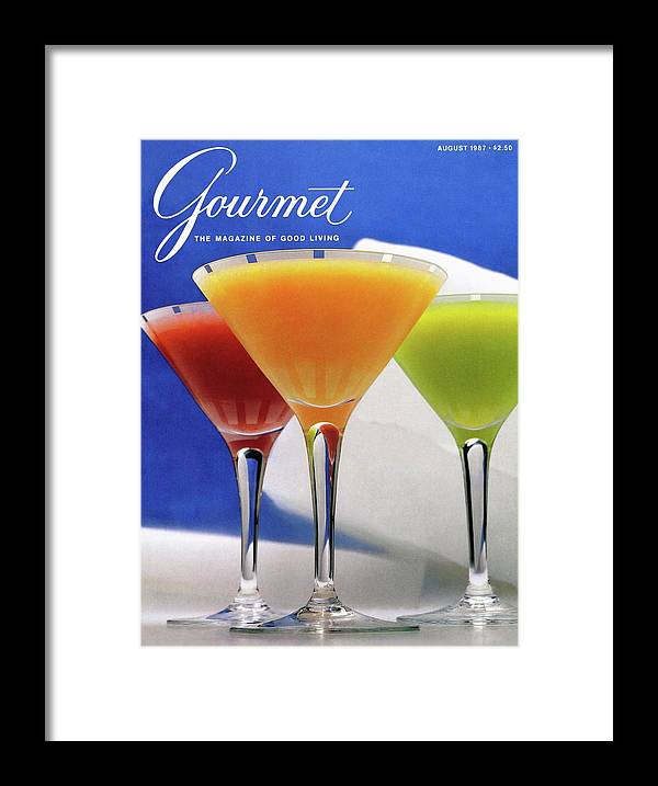 Food Framed Print featuring the photograph Summer Cocktails by Romulo Yanes