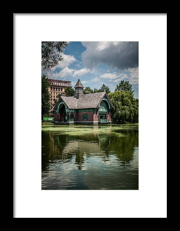 Nyc Framed Print featuring the photograph Summer In Central Park by Vitaly Levin