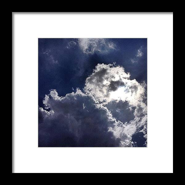 Nature Framed Print featuring the photograph Summer Sky by Nic Squirrell