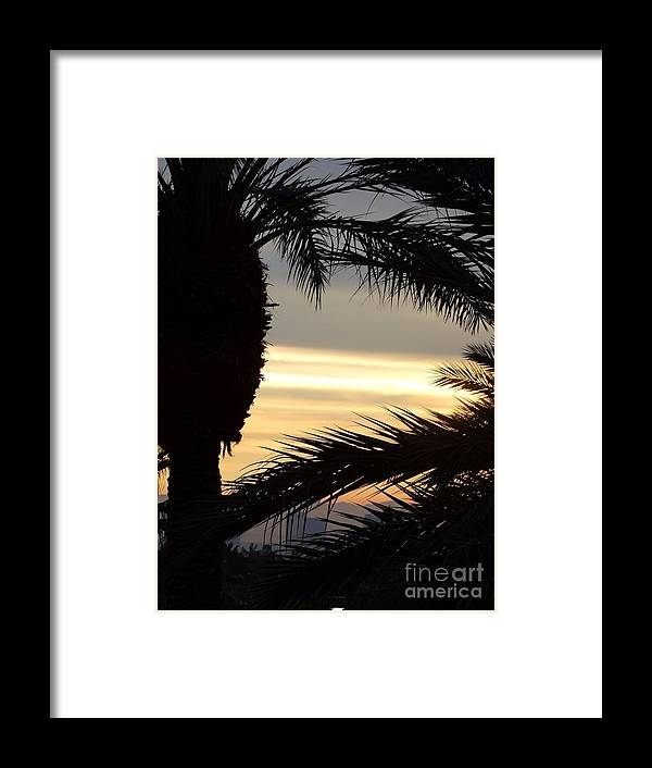 Framed Print featuring the photograph Summerlin Sunset by Linda Xydas
