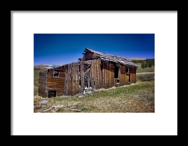 Summitville Framed Print featuring the photograph Summitville - Colorado Ghost Town by Ellen Heaverlo