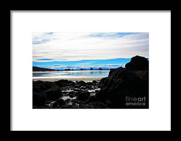 Beach Framed Print featuring the photograph Sumner Beach by Willinda Swart