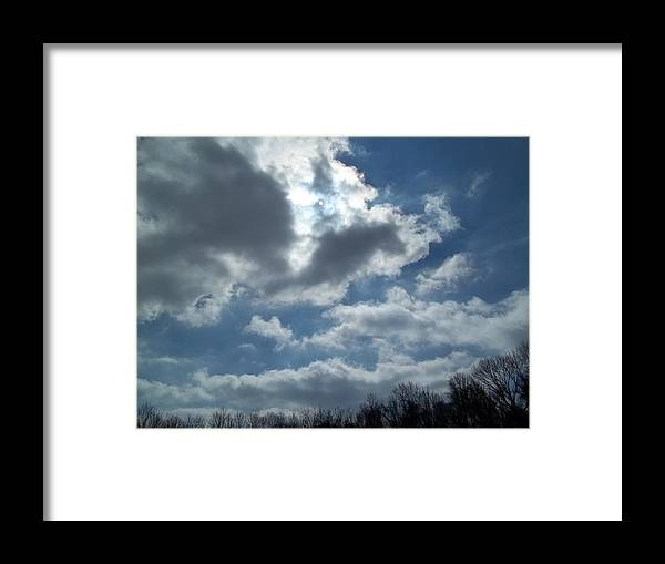 Sun Shine Framed Print featuring the photograph Sun Almost by Eric Switzer