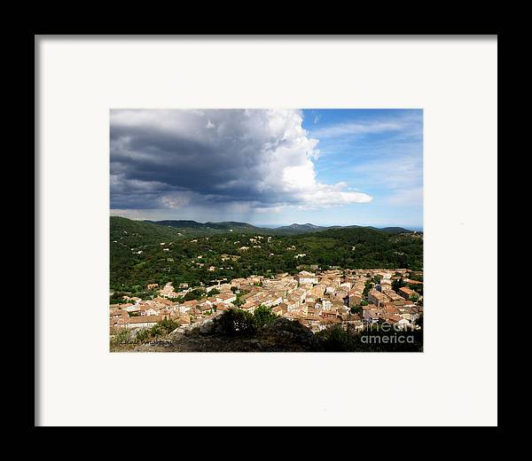 Provence Framed Print featuring the photograph Sun And Rain by Lainie Wrightson