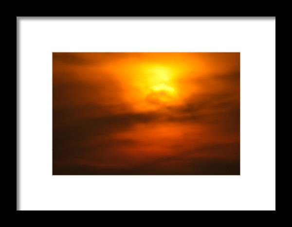 Africa Framed Print featuring the photograph Sun Mood by Alistair Lyne