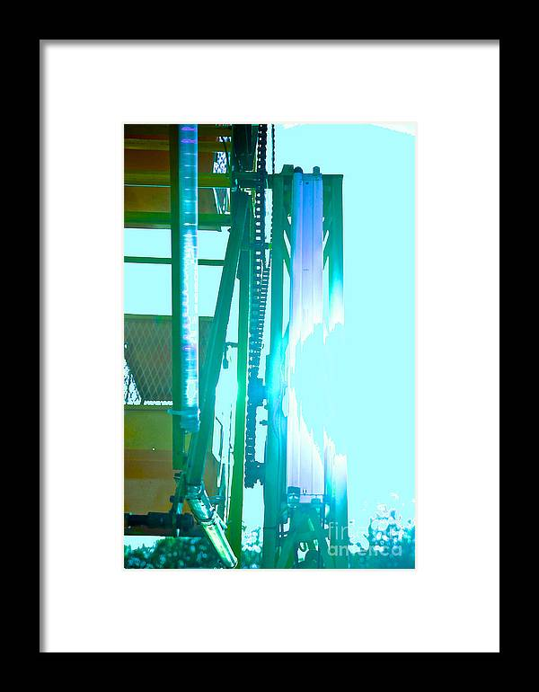 Carnival Framed Print featuring the photograph Sunlit Ferris by Kathleen Fleming