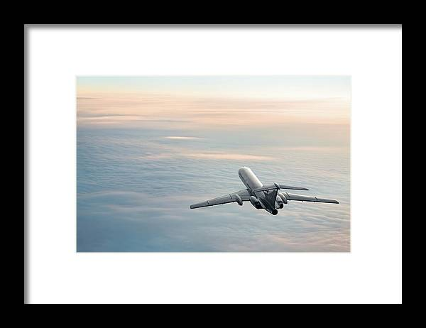 Scenics Framed Print featuring the photograph Sunrise Journey by Egorych